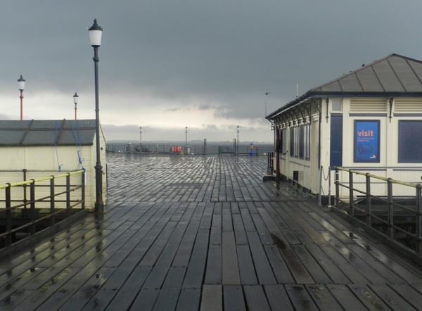 The end of the pier, Southend-on-sea by JasperValentine