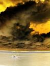 dramatic scottish skies