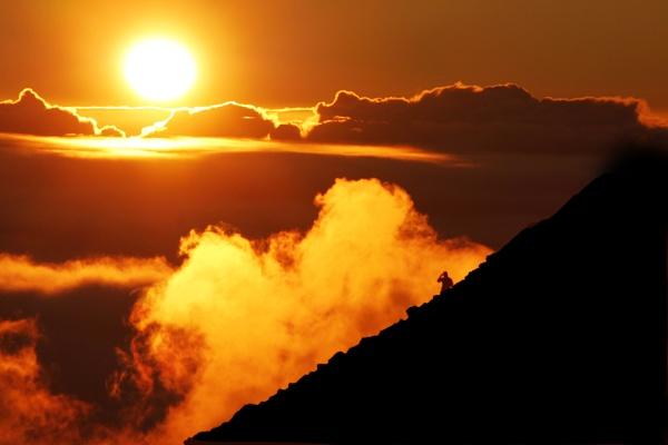 Sunrise at Haleakala Volcano, Maui by PhotographyBySuzan