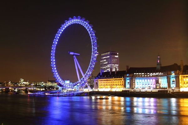 London Eye by Cristian