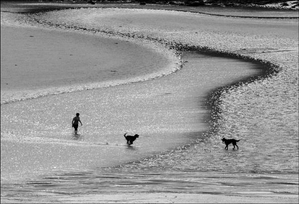 On Waulkmill Beach by MalcolmM
