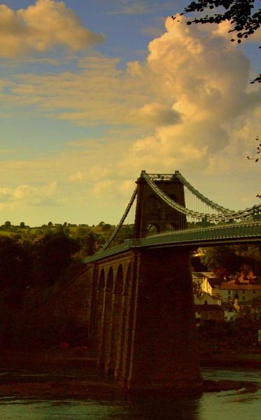 Menai bridge Wales