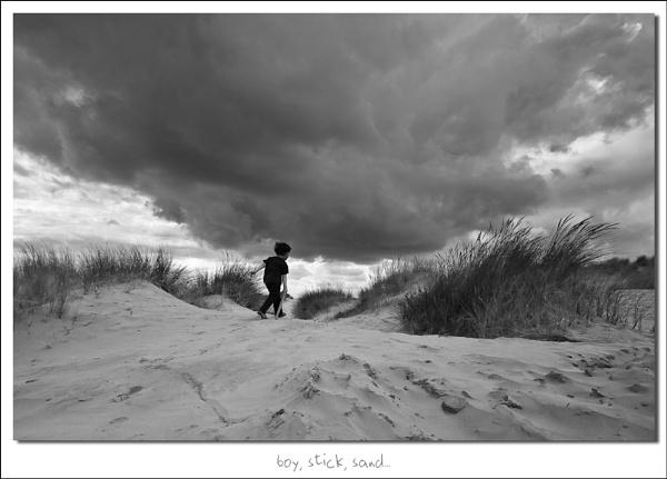 boy, stick, sandÂ… by heffalump