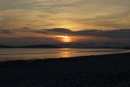 Setting sun over Gigha and Islay