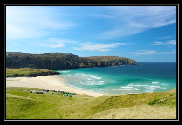 Cliff Beach by louisemorrisonsty