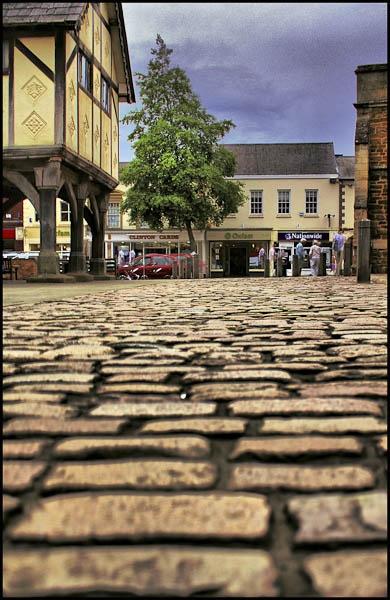 Cobbled Street by PhotoMorph