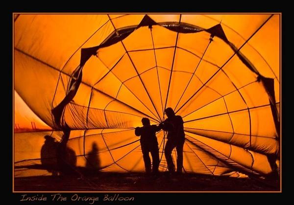 Inside The Orange Balloon by Joeblowfromoz