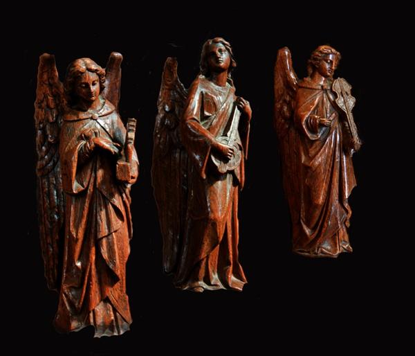 Three angelic musician by xwang