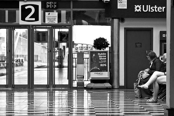 waiting room II by JOHNu