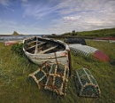 Holy Island Boatscape