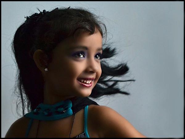 cute girl by jackran
