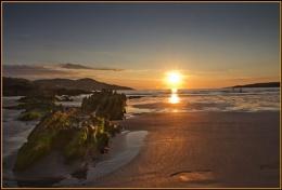 Footprints @ sunset, Portnoo