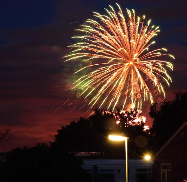 Fireworks by Amrok
