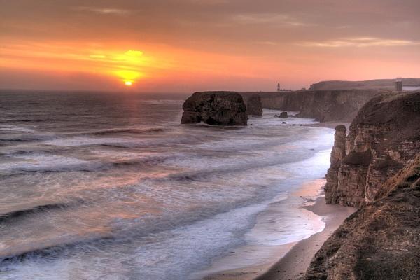 Sunrise over Marsden Bay by billwestphotography