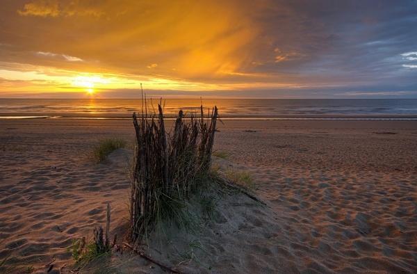 Belgian sunset by PeterK001