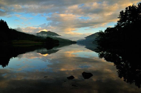 Loch Eck Twilight by dougie_n