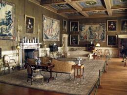 Inside Chirk Castle
