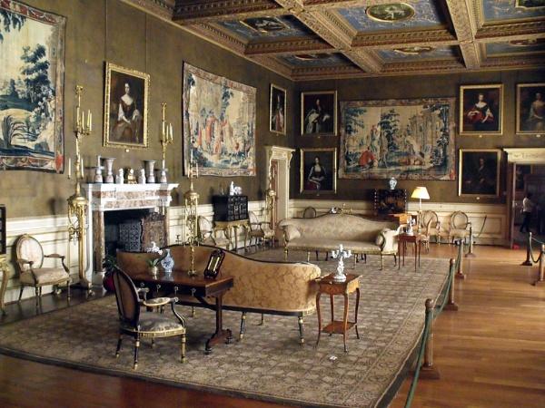 Inside Chirk Castle by kforeman