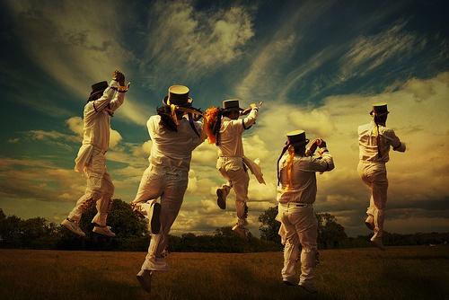 Dancers by Audran