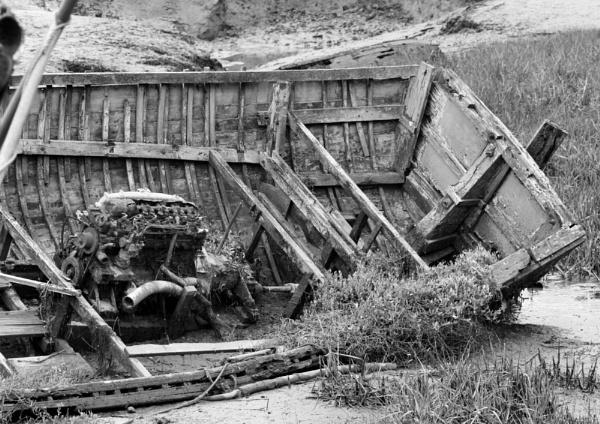 Wrecks at Bideford Quay by MGathercole
