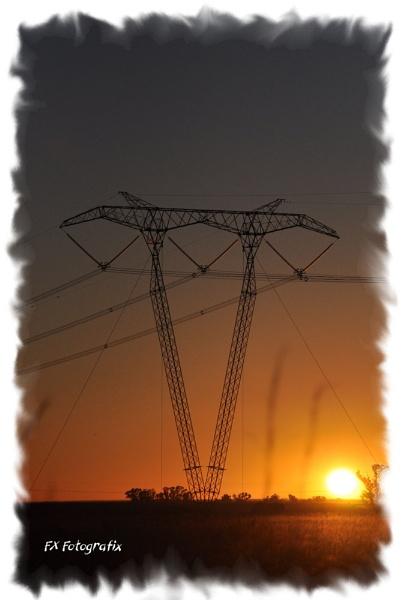 African Powerline by MTFernandes