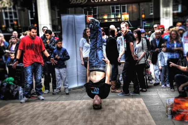 Street Dancing by WILBURFORCE
