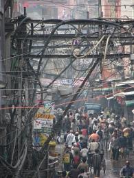Old Delhi daily life