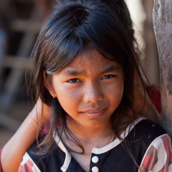 Khmer Girl by dvdrew