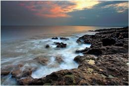 Ogmore On Sea - Sunset