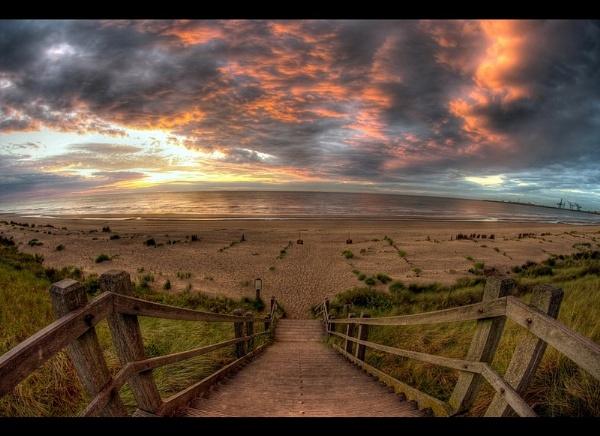 Fish eye coast by PeterK001