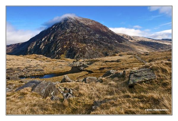 Pen yr Ole Wen, Snowdonia, Wales by Lusitano