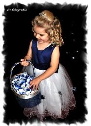 Bride's Flowergirl......  Edited ...