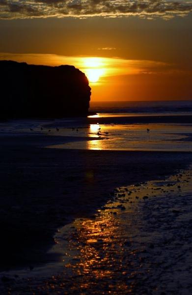cornish sunset by neilrich
