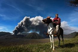 Mount Bromo's Rider