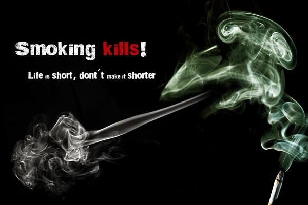 Smoking kills! by Riik