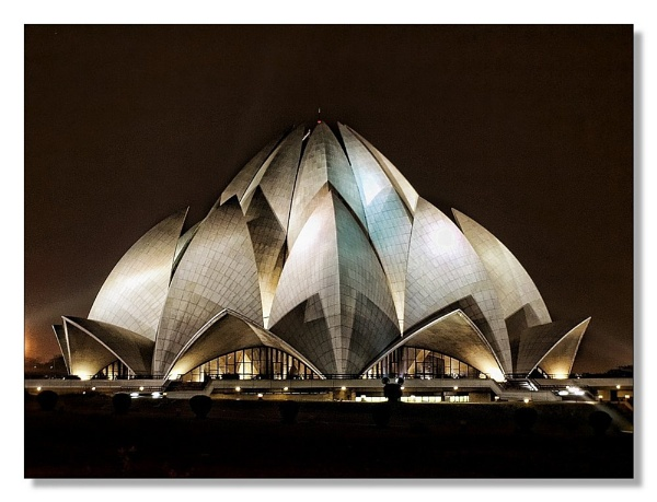 Lotus temple (New Delhi India) by sawsengee