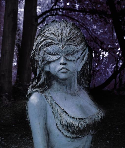 Night Wood Elf by GManShorty