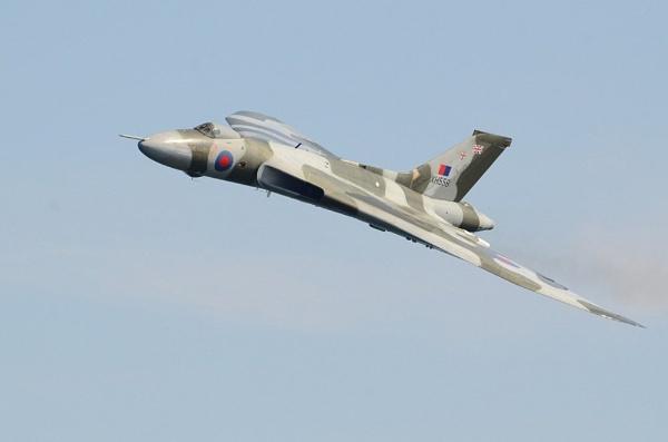 Last Vulcan flying by Kruger01