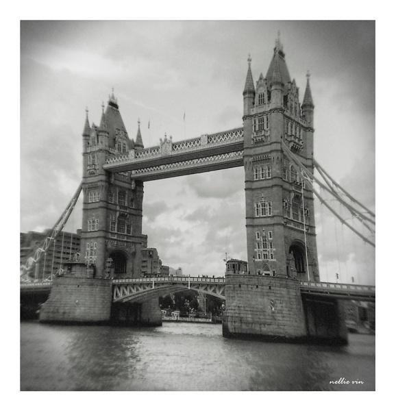 Tower Bridge. London.UK.Nellie Vin by nellievin