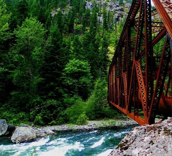 Bridge Over Raging River by roddaut