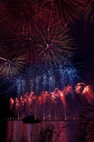 the fireworks by Abdelrazek