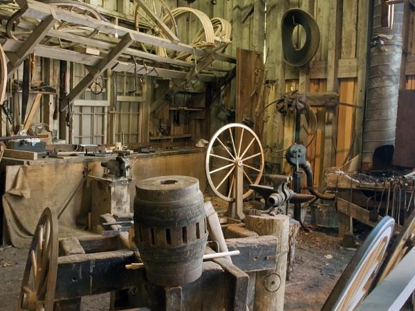 Wheelwright Shop by jbsaladino