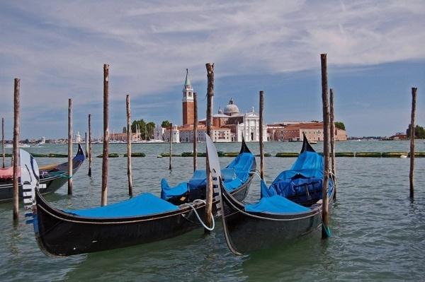 Gondolas of Venice by Janice20