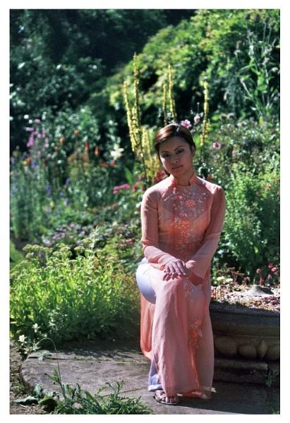 Tan Tan - Flower Garden. by mwoods
