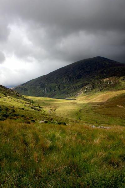 Lough Glannafreaghaun in The Valley by Callanan