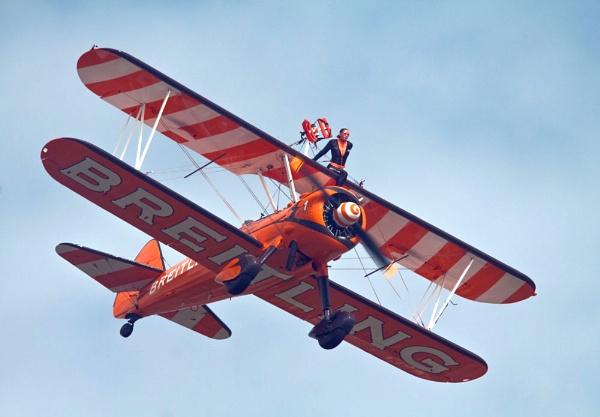 Boeing Stearman Wingwalkers. by Goodley