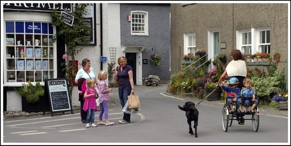 Village life by jimmy-walton