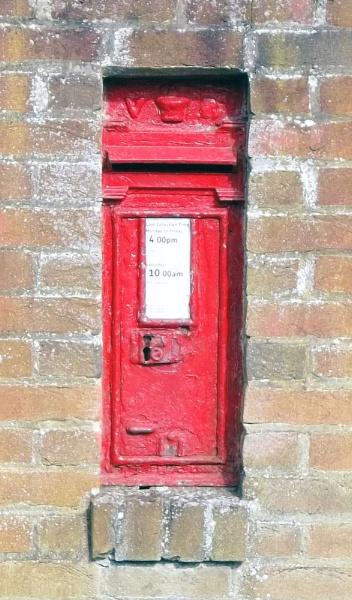 Village Postbox by Hurstbourne