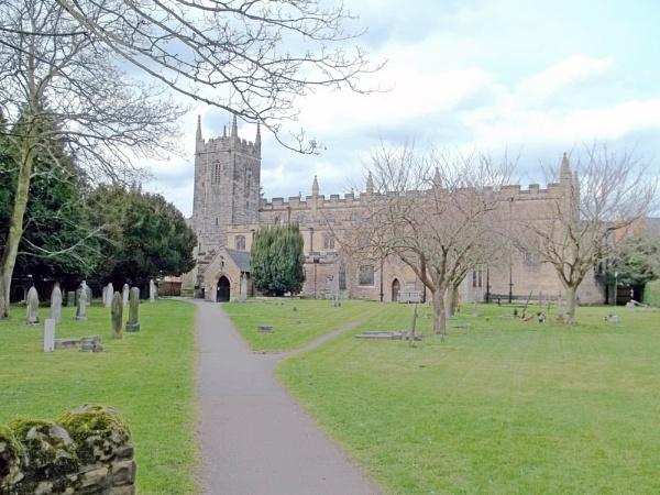 St Giles Parish Church by Hurstbourne