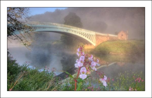 Bigsweir Bridge at Dawn by terry-